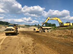We're excited to be expanding the landfill area on-site so that we can meet the needs of our customers