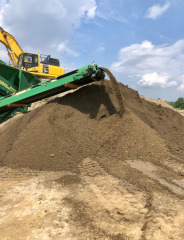 Screened Topsoil is available