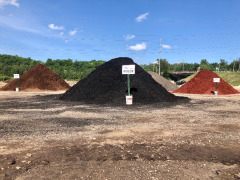 We have three kinds of mulch: Black, Brown and Red