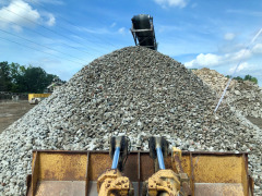 #1 and #2 Recycled Concrete available and ready for pickup or delivery!