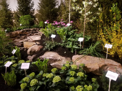 Another look at our Sandstone Boulders from the Home and Garden Show display